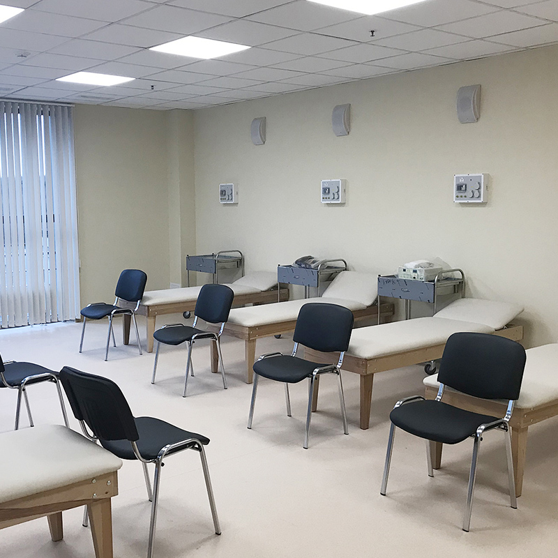 Оснащение кабинета физиотерапии